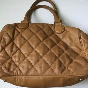 Quilted Bag in beige
